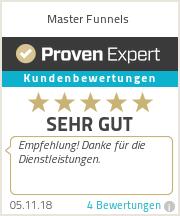 Erfahrungen & Bewertungen zu Master Funnels