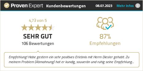 Erfahrungen & Bewertungen zu Tobias Kläner anzeigen