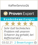 Erfahrungen & Bewertungen zu KaffeeService24