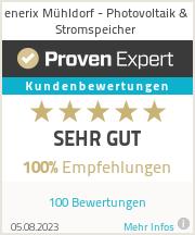 Erfahrungen & Bewertungen zu enerix Landshut - Photovoltaik & Stromspeicher