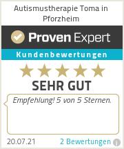 Erfahrungen & Bewertungen zu Autismustherapie Toma in Pforzheim