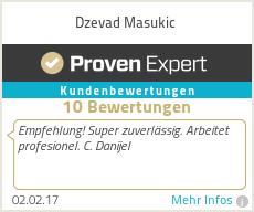 Erfahrungen & Bewertungen zu Dzevad Masukic