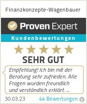 Erfahrungen & Bewertungen zu Finanzkonzepte-Wagenbauer