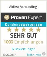 Erfahrungen & Bewertungen zu Aktiva Accounting