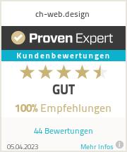 Erfahrungen & Bewertungen zu ch-web.design