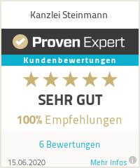 Erfahrungen & Bewertungen zu Kanzlei Steinmann