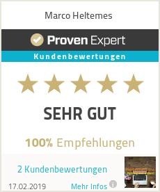 Erfahrungen & Bewertungen zu Marco Heltemes