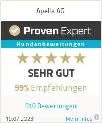 Erfahrungen & Bewertungen zu Apella AG