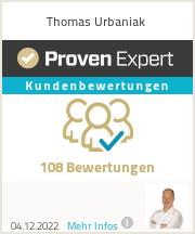 Erfahrungen & Bewertungen zu Thomas Urbaniak