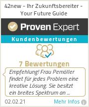 Erfahrungen & Bewertungen zu 42new - Ihr Zukunftsbereiter - Your Future Guide
