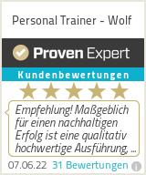 Erfahrungen & Bewertungen zu Personal Trainer - Wolf