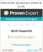 Erfahrungen & Bewertungen zu Uttendorfer Assekuranz GmbH & Co KG