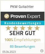 Erfahrungen & Bewertungen zu PKW Gutachter