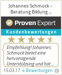 Erfahrungen & Bewertungen zu Johannes Schmuck - Beratung Bildung Management