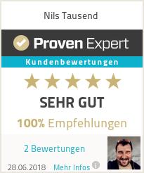 Erfahrungen & Bewertungen zu Nils Tausend