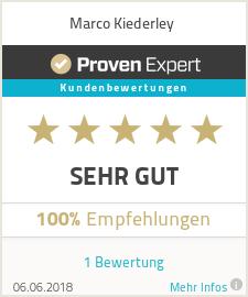 Erfahrungen & Bewertungen zu Marco Kiederley