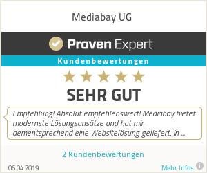 Erfahrungen & Bewertungen zu Mediabay UG