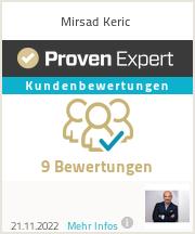 Erfahrungen & Bewertungen zu Mirsad Keric