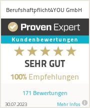 Erfahrungen & Bewertungen zu Berufshaftpflicht4U.de