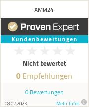 Erfahrungen & Bewertungen zu AMM24