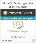 Erfahrungen & Bewertungen zu VLH e.V. Beratungsstelle Julian Neumann