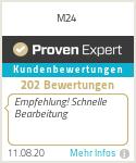 Erfahrungen & Bewertungen zu M24