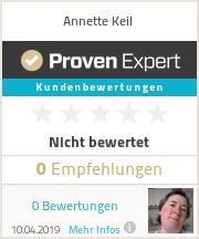 Erfahrungen & Bewertungen zu Annette Keil