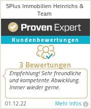 Erfahrungen & Bewertungen zu 5Plus Immobilien Heinrichs & Team
