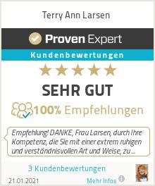 Erfahrungen & Bewertungen zu Terry Ann Larsen
