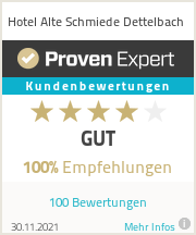Erfahrungen & Bewertungen zu Hotel Alte Schmiede Dettelbach