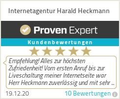 Erfahrungen & Bewertungen zu Internetagentur Harald Heckmann