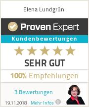 Erfahrungen & Bewertungen zu Elena Lundgrün