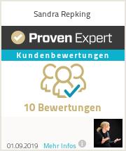 Erfahrungen & Bewertungen zu Sandra Repking