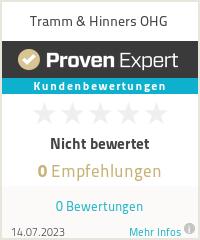 Erfahrungen & Bewertungen zu Tramm & Hinners OHG
