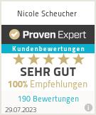 Erfahrungen & Bewertungen zu Nicole Scheucher