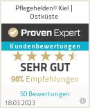 Erfahrungen & Bewertungen zu Pflegehelden® Kiel / Ostküste