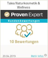 Erfahrungen & Bewertungen zu Talea Naturkosmetik & Wellness