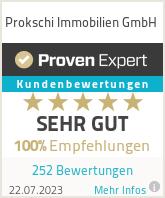 Erfahrungen & Bewertungen zu Prokschi Immobilien GmbH