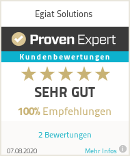 Erfahrungen & Bewertungen zu Egiat Solutions