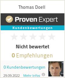 Erfahrungen & Bewertungen zu Thomas Doell