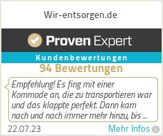 Erfahrungen & Bewertungen zu Wir-entsorgen.de