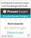 Erfahrungen & Bewertungen zu Hein World Food Vertriebs- und Handelsgesellschaft mbH