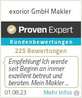 Erfahrungen & Bewertungen zu exorior GmbH Makler