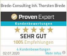 Erfahrungen & Bewertungen zu Brede-Consulting Inh. Thorsten Brede