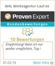 Erfahrungen & Bewertungen zu WAL Werbeagentur Lauf - Agentur für Marketing und Werbung