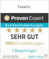 Erfahrungen & Bewertungen zu Foxarts