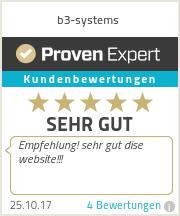 Erfahrungen & Bewertungen zu b3-systems