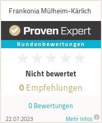 Erfahrungen & Bewertungen zu Frankonia Mülheim-Kärlich
