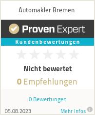 Erfahrungen & Bewertungen zu Automakler Bremen