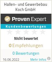 Erfahrungen & Bewertungen zu Hallen- und Gewerbebau Koch GmbH